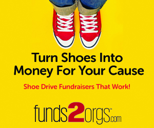 Turn Shoes into Money for Your Cause