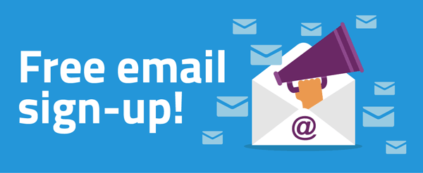 Free email sign-up